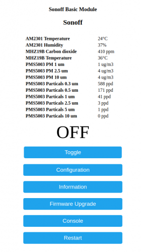 Developers - Support Dust Sensor PMS5003 -