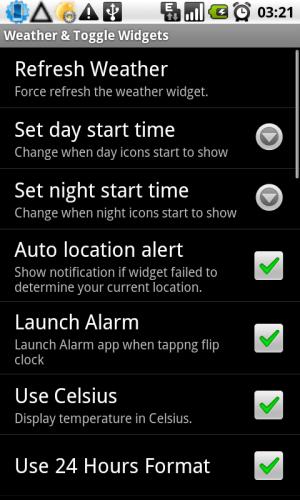 Виджет погода и часы android 4pda
