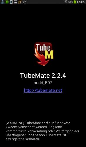 tubemate v2.2.5