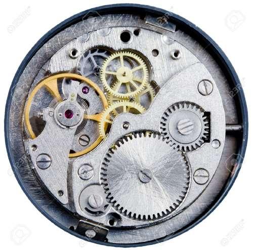 механические часы механизмы схемы