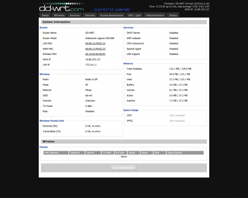 DD-WRT - альтернативная прошивка - 4PDA