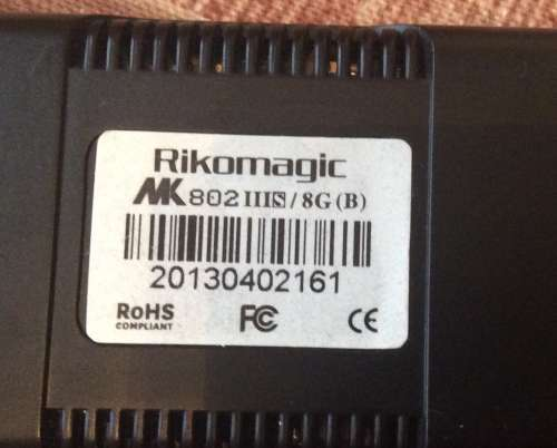 Прошивка rikomagic mk802 iiis