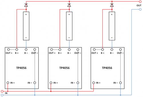 Tp4056 power bank своими руками схема 97