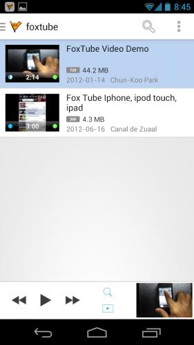 FoxTube - YouTube Player - 4PDA