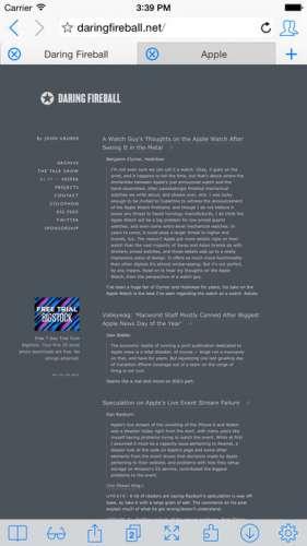 iCab Mobile (Web Browser) - 4PDA on