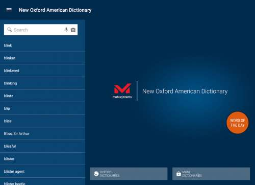 New Oxford American Dictionary - 4PDA